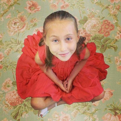 My beautiful oldest daughter..Looksgoodinred Loveher Growinguptoofast Cathkidson greatday