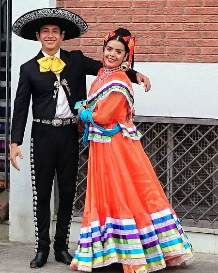 VIVA MEXICO Portrait Two People Dress Traditional Clothing Tradition Beautiful People Mexico Colours Mariachis