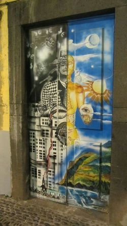 Streetart Doors