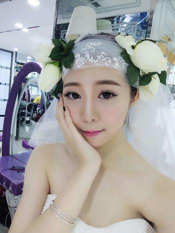 Nice To Meet You EyeEm Best Shots First Eyeem Photo Wedding Dress Model Show Girl Me Photo♡ Hello ❤ Maoming China