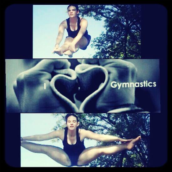 I love gymnastics* Gymnastics For Life ♡ I Love Gymnastics Gymnastics Practice Gymnastics Quotes practice