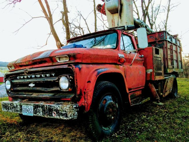 Transportation Old-fashioned Chevy Truck Abandoned_junkies Abandoned