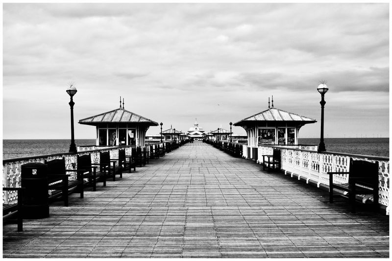 Pier life EyeEm Selects EyeEm Gallery EyeEm Best Shots Eye4photography  Relaxing Taking Photos EyeEm Eyemphotography Taking Pictures The Week on EyeEm Sky Sea Water Cloud - Sky The Way Forward Architecture Built Structure Beach Street Light Horizon Diminishing Perspective Footpath Pier Nature Day Horizon Over Water No People Direction Street Land