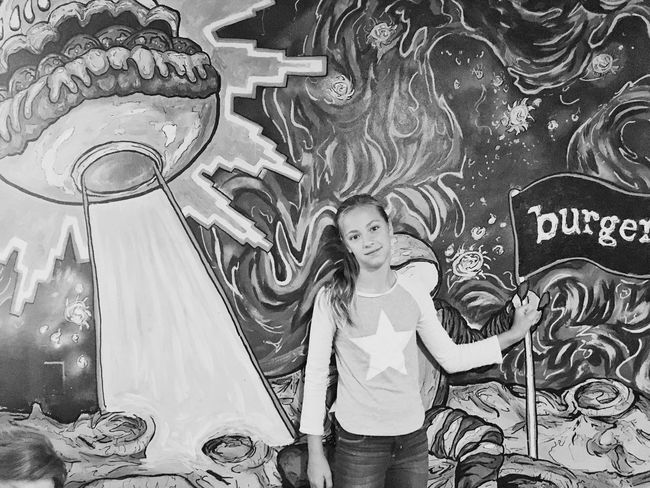Burger, Santa Cruz CA Blackandwhite California Shootermag EyeEm Best Shots Bw_collection Santa Cruz Burger
