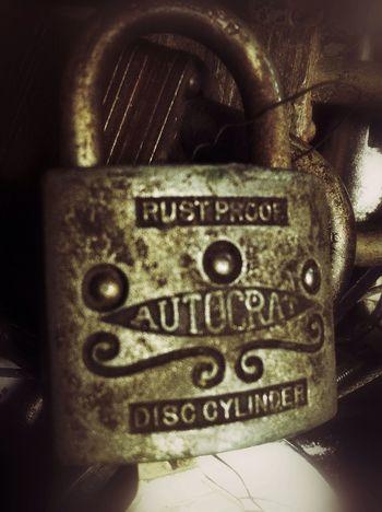 Rust Proof? Partnersingrime Rustygoodness Awesome Locks RuralTreasures