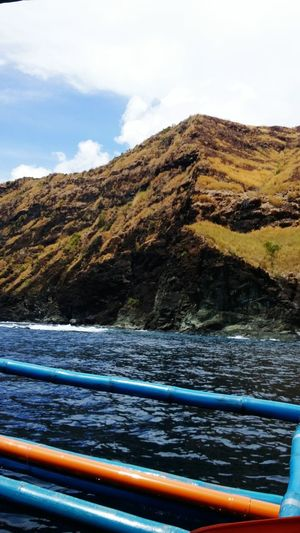 My POV from the boat ride Mount Pundaquit Philippines Travel Explore Nature Zambales