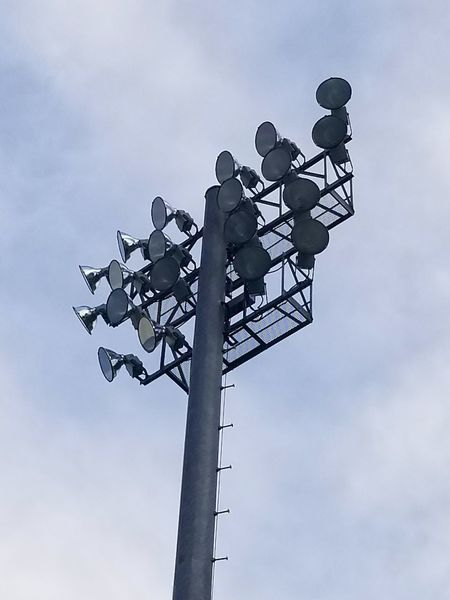 Football Stadium Sky Lights