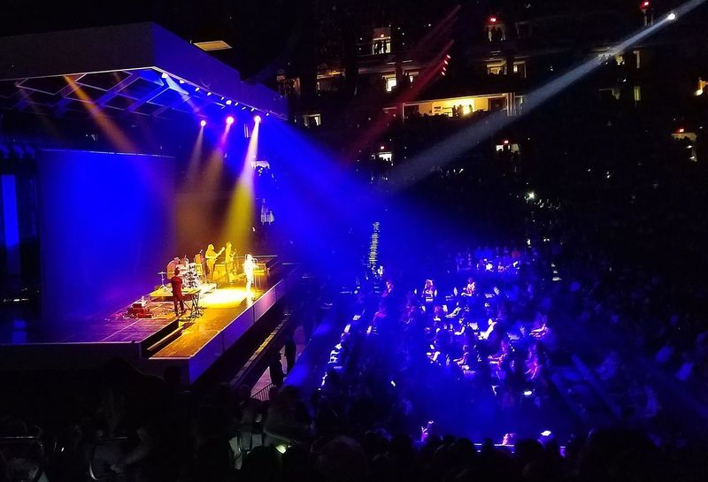 Jorja Smith Concert Music Performance Popular Music Concert Stage - Performance Space Nightlife Crowd Performing Arts Event Live Event Fun Singer Guitar Player Singing Stage Light Audience Illuminated Large Group Of People