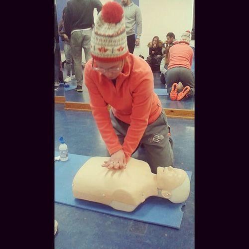 Hoje salvei uma vida 💪🏥🚑 Auladesocorrismo RCP Ultimoaño Licenciatura desporto