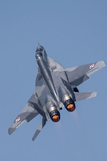 Blue Culture Day EPSN Freedom Mikoyan I Gurevich Jet Fighter Mig Afterburner Low Angle View No People Outdoors Sky