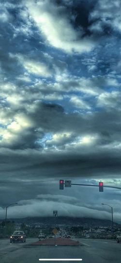 Just liked this recropping Cloud - Sky Sky Transportation Mode Of Transportation Nature Road Land Vehicle