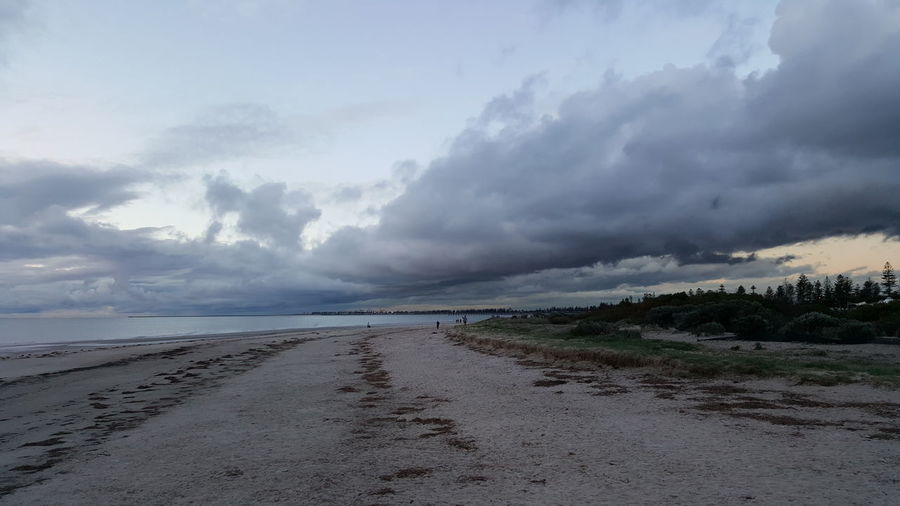 Tranquil Scene Tranquility Sky Cloud - Sky Scenics The Way Forward Beauty In Nature Cloudy Nature Non-urban Scene Water Day Diminishing Perspective Calm Sea Outdoors Vanishing Point Remote Majestic No People South Australia Semaphore Beach Storm Brewing