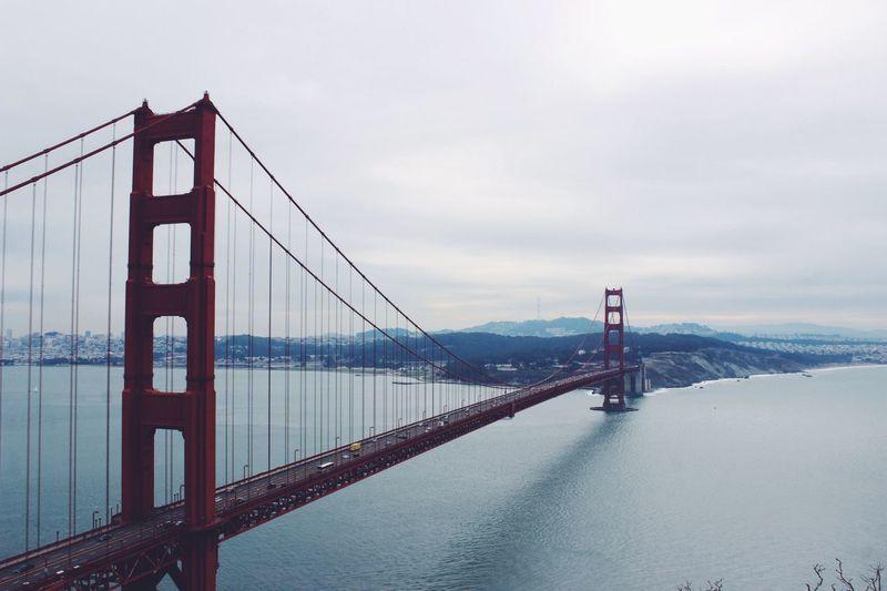What a view Golden Gate Bridge California San Francisco Architecture Bridge Bridges Water City