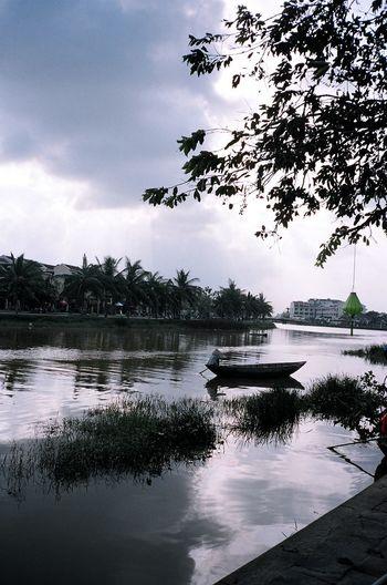 Kodak Portra 35mm Film Film Hoi An Vietnam Traveling River View