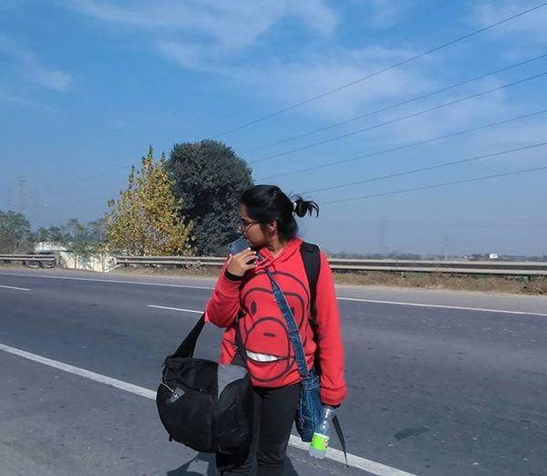 Roads are my thing, this dust makes me feel alive. Photo credits: @sandhuraavi @raavi_art Instapic Travel Instagood Happiness Goodlife Love Refreshing Redartspunjab Anewjourney