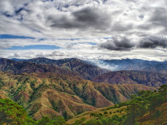 Mt Pigingan in Itogon, Benguet, PH Beauty In Nature Cloud - Sky Landscape Mountain Mountain Range Nature Outdoors Scenics Sky