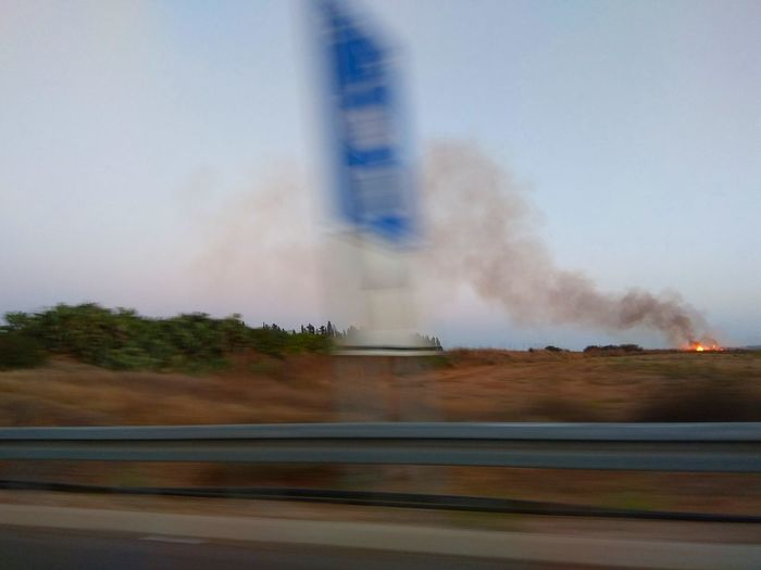 No Smoke Without Fire🔥, right?!!! Fire Field Shooting While Driving Blurry On Purpose Motion