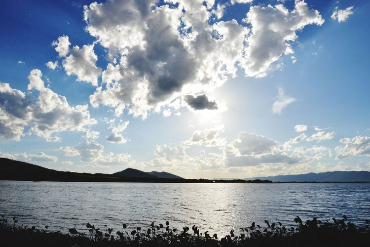 Hartebeespoort dam South Africa Sky Water Tranquility Cloud - Sky Nature Scenics Sea Beauty In Nature Tranquil Scene Outdoors No People Mountain Day Hartebeespoort Meerhof Hartbeespoort Dam
