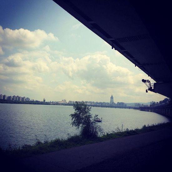 한강리이딩~? wilier shimano105/garmin810/zipp404/kohosis/camelbak/RUDY Roadbike Wilier Zipp Han River
