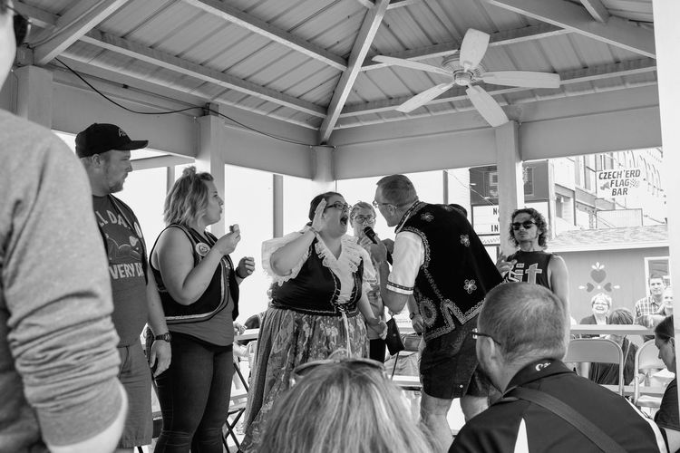56th Annual National Czech Festival - Saturday August 5, 2017 Wilber, Nebraska Americans Camera Work EventPhotography FUJIFILM X100S Main Street USA Nebraska Photo Essay Small Town America Visual Journal Wilber, Nebraska Adult Casual Clothing Culture And Tradition Czech Days Czech Festival Day Indoors  Kolace Eating Contest Kolace Large Group Of People Men Parade People Photo Diary Real People Standing Streetphotography Women
