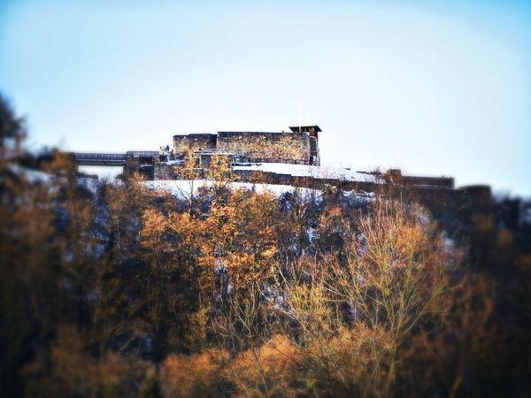 Teufelsburg 😈 Castle Burg Winter