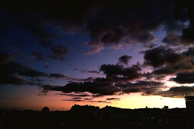 The sun is setting Sunset Onephotoaday
