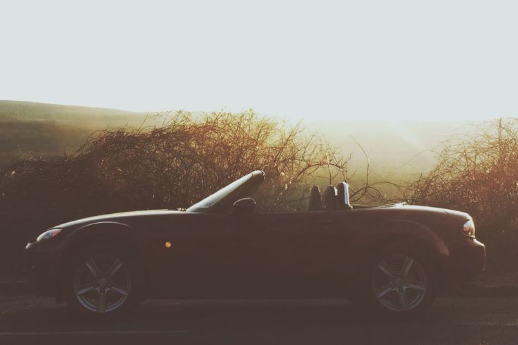 Firstrun of the year Mx5 Miata Spring Sunshine Roadster Sportcar Silhouette IPhoneography EyeEm Best Shots