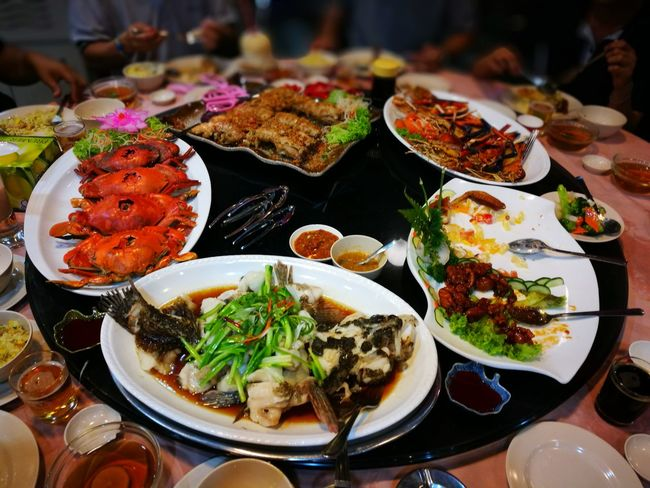 Food Variation Food And Drink No People Ready-to-eat Freshness Indoors  Healthy Eating Close-up Day Seafoods SEAFOOD🐡 Seafood Madness Food And Drink Freshness Indoors  Tasty😋 Adults Only