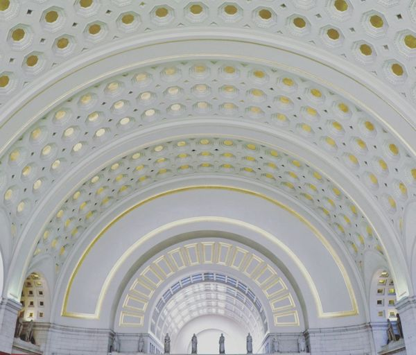 """Give light, and the darkness will disappear of itself."" Ceiling Architecture Built Structure Indoors  Pattern Arch Architectural Design Architecture City Washington, D.C. Coloradophotographer Ladyphotographerofthemonth Travel Tourism International Landmark Photography Photooftheday Travel Destinations"