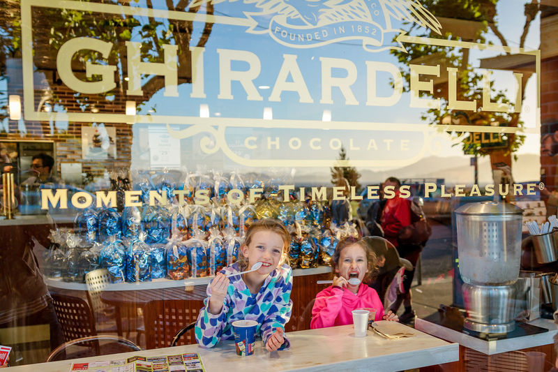 Eating Ghirardelli  Ghirardelli Square San Francisco Ghirardellisquare Ice Cream Through The Window Window