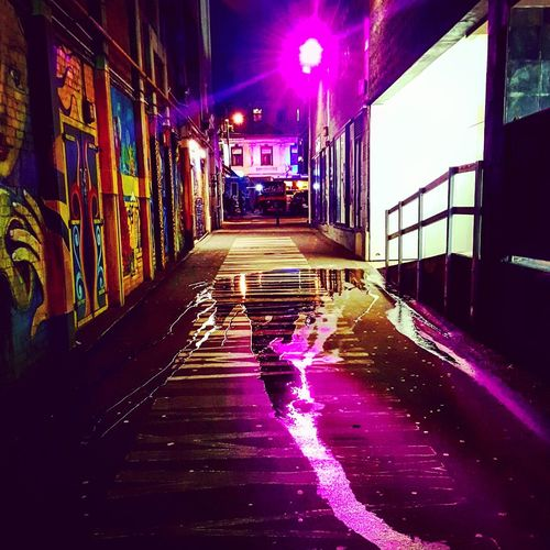 Not all alleyways are full of danger, some offer art. Alley Alleyway Urban Urbanphotography Streetphotography Street Photography Streetart Street Art Purple Wellington  Wellingtonnz Wellington Nz Wellington New Zealand Street Streetphoto Street Life Street Light City Cityscape City Street City Lights City Life Cityscapes Citylife Citylights