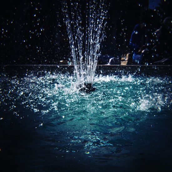 Water Splashing Nature Motion Outdoors Night No People Leisure Activity Close-up Waterfront Sea Beauty In Nature Drop
