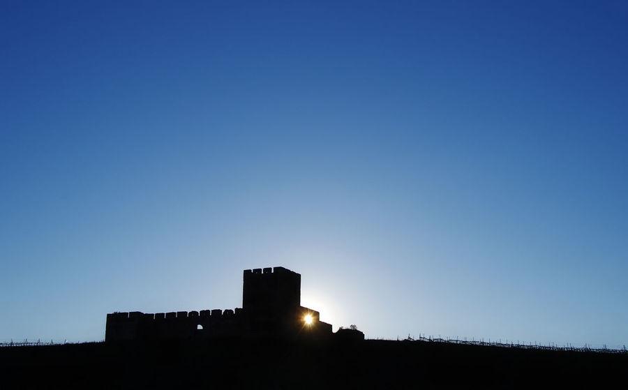 Alentejo Architecture Built Structure Castle No People Portugal Silhouette Sky Valongo