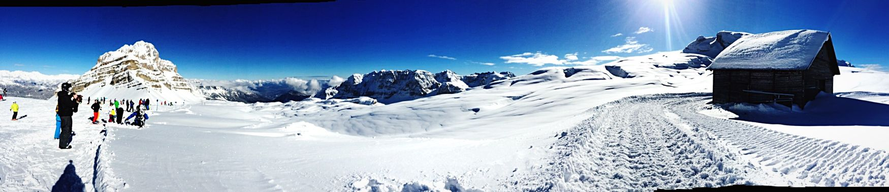 The Places I've Been Today Mountain View Snow ❄