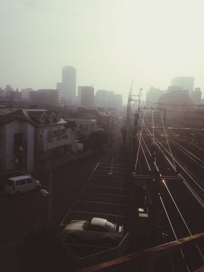 Goodmorning Morning Mist City Hello World Spring Is Coming