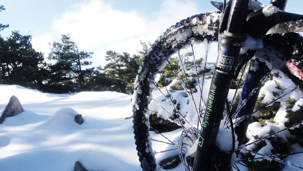 Snow Winter Cycling Bicycle MystiqueBike