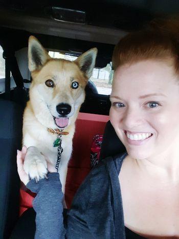 My partner in crime, Miss Ginger Ann