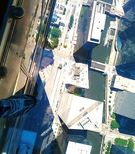 Chicago Willistower my foot 1400ft above down town Chicago