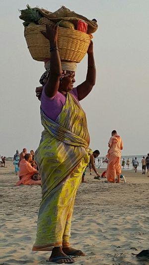 WomeninBusiness Beach Life Fruits India South India Goa Arambol Beach