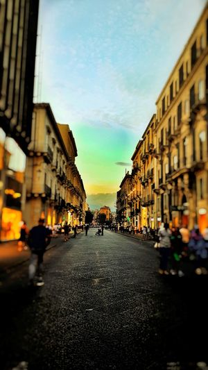 City Architecture City Street Street Sky People Cityscape City Life Sunset Outdoors Day Travel Destinations Built Structure Building Exterior Adult Adults Only First Eyeem Photo