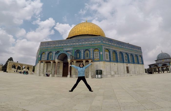 Wanderlust Adventure Israel Jerusalem Jumpingpic Oldjerusalem Religion Templemount