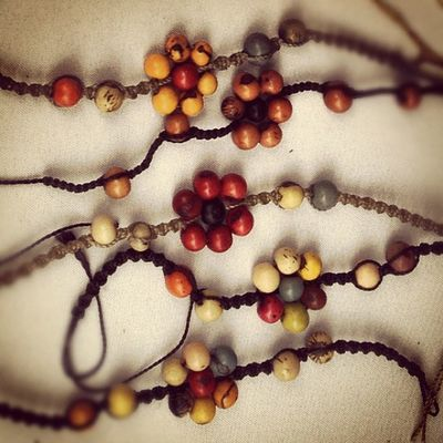 Bracelets from Andes Closet.