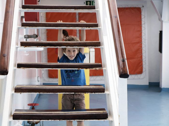 Child Children Cuted Day Design Metal One Person Ship