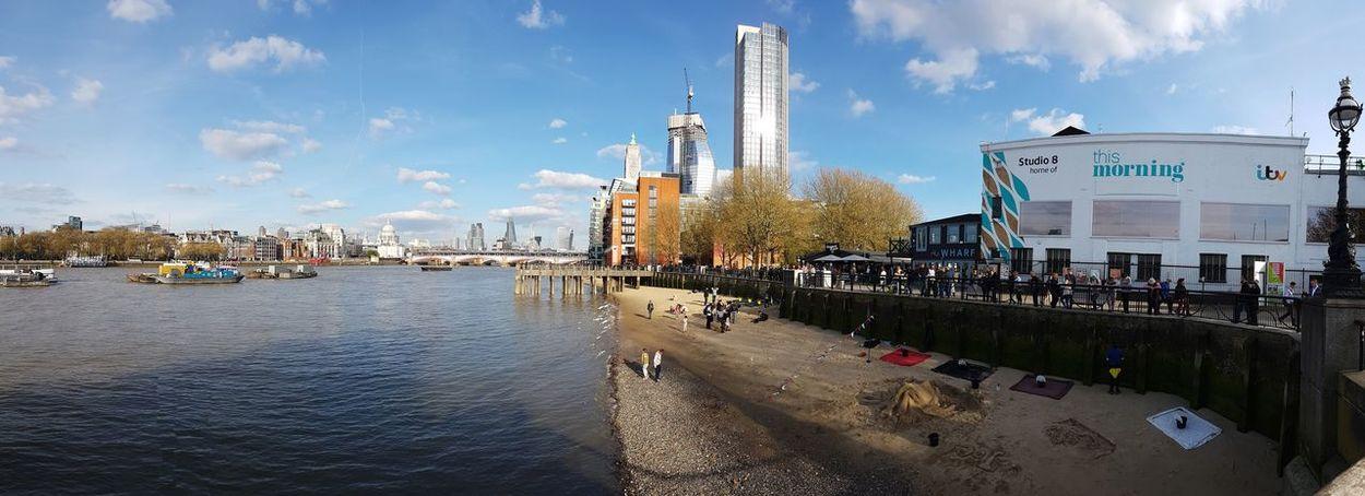 Beach Panorama Panoramic Photography Panoramic Panorama London LONDON❤ Eyeforphotography
