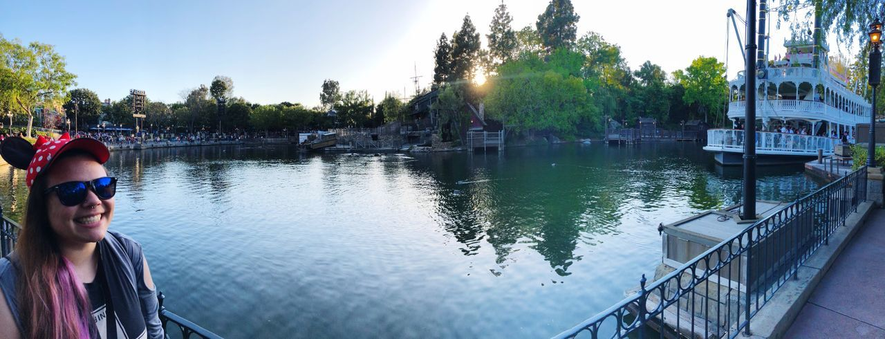 Disney Day Disneyland Tree Water Plant Reflection Day Nature Real People