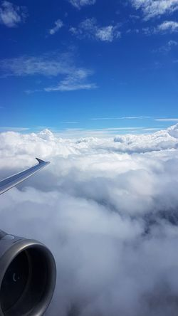 Airplane Cloud - Sky Business Finance And Industry Flying Transportation Travel Journey Aerial View Sky Air Vehicle Day No People Outdoors Nature Commercial Airplane Investing In Quality Of Life