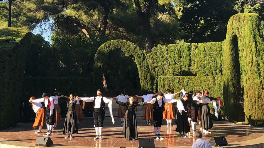 Personal Perspective Catalonia Ballet Dancer Folklore Merce Festivity