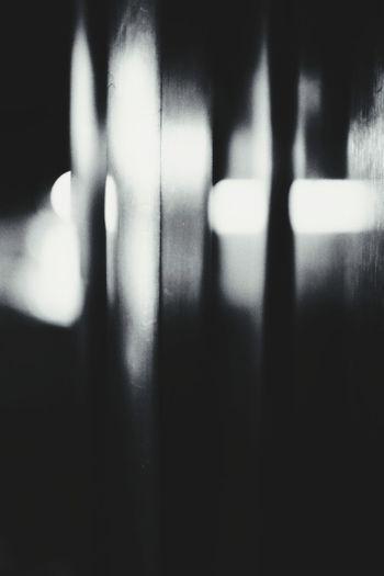 Defocused image of person
