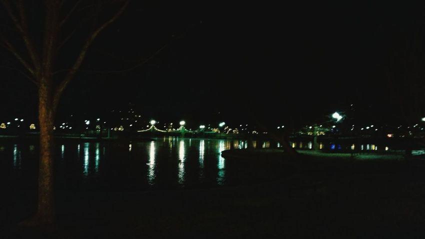 Night Lights Public Garden Running