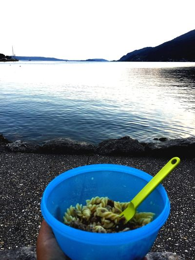 Lake Dinner 🍴 Dinner Sunset Lake Tupperware
